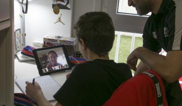 Imagen de Educación en tiempos de covid-19:  UNICEF recomienda concientizar a los padres para que ayuden a sus hijos en las tareas escolares