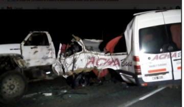 Imagen de Conmoción en Castelli por la muerte de un vecino tras sufrir un accidente en la Ruta 41