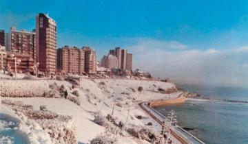 Imagen de ¿Nieve en la Costa Atlántica? El Servicio Meteorológico Nacional dice que podría nevar entre el Partido de La Costa y Mar del Plata