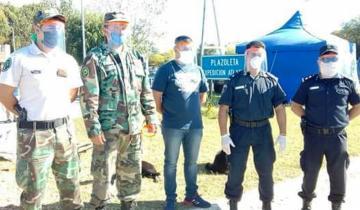 Imagen de Dolores: se distribuyeron máscaras protectoras a las fuerzas de seguridad