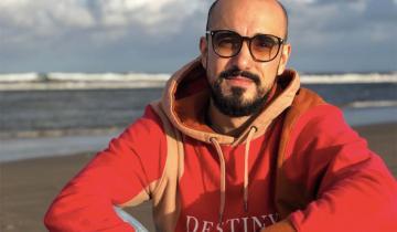 Imagen de Abel Pintos visitó las playas de Santa Teresita y despertó la locura de sus fanáticos