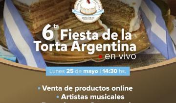 Imagen de Cuenta regresiva en Dolores: llega la Edición Virtual de la Torta Argentina