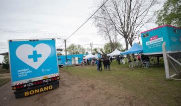 Imagen de Partido de La Costa: cómo funciona el operativo sanitario Integrar Salud que recorre las localidades