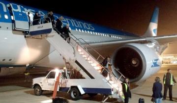 Imagen de Un avión de Aerolíneas Argentinas aterrizó de emergencia en Colombia