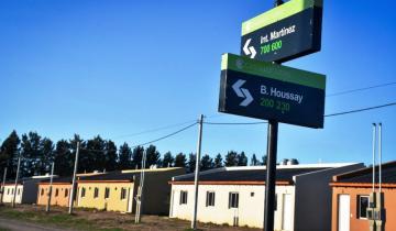 Imagen de Castelli: se formalizó la entrega de 16 viviendas en el Barrio Favaloro