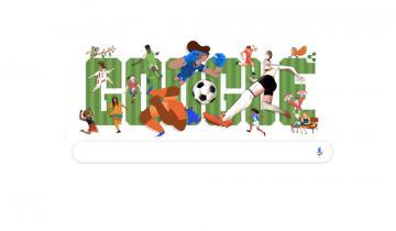 Imagen de Google le dedicó un doodle al Mundial de Fútbol Femenino Francia 2019