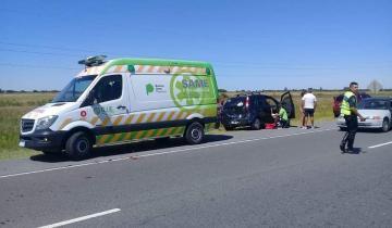 Imagen de Cuatro autos protagonizaron un choque en cadena