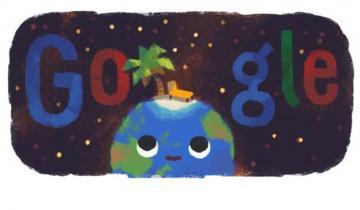 Imagen de Con un doodle, Google celebra la llegada de la Navidad