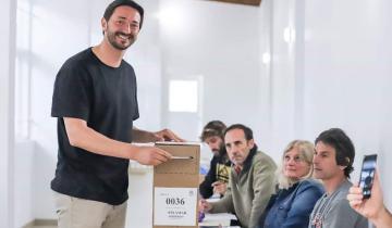 Imagen de Así votaba el Intendente Martín Yeza en Pinamar