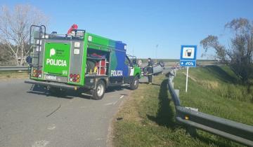 Imagen de Dolores: trasladaron al joven que protagonizó un accidente en la Ruta 2