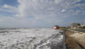 Imagen de Alertan por crecida en la Costa Atlántica