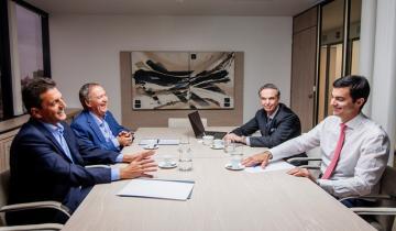 """Imagen de Massa: """"Estamos construyendo una alternativa frente al fracaso de Macri"""""""