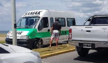 Imagen de Choque en cadena en la Ruta 11: dos personas debieron ser hospitalizadas