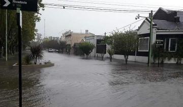 Imagen de El temporal de lluvia en la región: Castelli también se inundó luego de que cayeran más de 250 milímetros