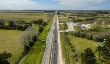 Imagen de Por obras de repavimentación, hay reducción de calzada en la Ruta 63