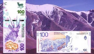Imagen de Un ciervo en lugar de Evita en los nuevos billetes de 100 pesos