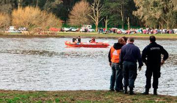 Imagen de Dos hombres murieron ahogados en la Laguna de Los Padres