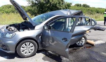Imagen de Un muerto y heridos graves, el saldo de un impactante accidente en la Ruta 2