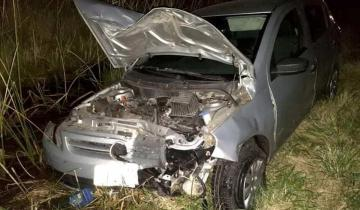 Imagen de Accidente en Lezama: un conductor dio positivo de alcoholemia y el otro no tenía licencia