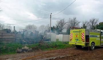 Imagen de Dolores: piden ayuda para una familia que perdió todo en un incendio