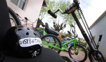 Imagen de Por iniciativa de Demaría, declararon de Interés Legislativo el proyecto Disfrutarte en Bici