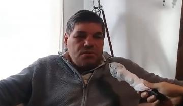 Imagen de Realizaron estudios médicos al camionero golpeado y detenido en General Madariaga