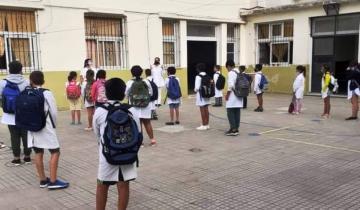 """Imagen de Coronavirus: el gobierno bonaerense aseguró que la presencialidad en las escuelas """"está garantizada"""""""
