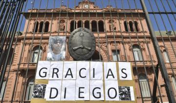 Imagen de Se confirmó que Maradona será velado en la Casa Rosada