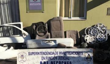 """Imagen de Desarmaderos en Necochea: """"cortaban"""" autos y vendían las partes por Facebook"""