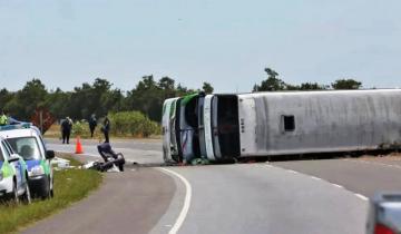 Imagen de Accidente en la ruta 2: el chofer dijo que tuvo un desperfecto en la dirección y el fiscal pidió su detención
