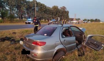 Imagen de Dos muertos es el saldo de un trágico accidente en la Ruta 2