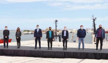 Imagen de Provincia y Nación firmaron un convenio para obras de dragado en el Puerto de Mar del Plata