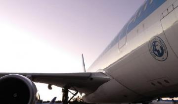 Imagen de Un avión volará durante tres días para traer insumos desde China a la Provincia