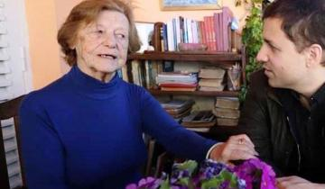 """Imagen de Murió """"Cacha"""" Eliçabe, la primera maestra de Santa Teresita"""