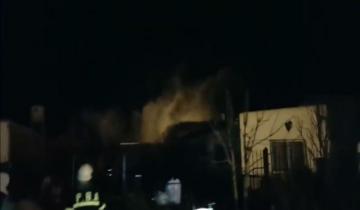 Imagen de Se incendió una casa en Dolores