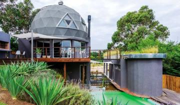 Imagen de Partido de La Costa: destacan la casa sustentable que es punto de referencia en Costa Esmeralda