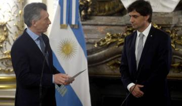 Imagen de Macri puso en funciones al nuevo ministro de Hacienda, Hernán Lacunza