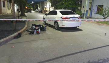 Imagen de Una persona herida tras un accidente de tránsito en Dolores