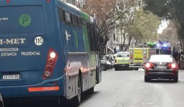 Imagen de Video: rescatan a un hombre que se quiso arrojar desde un sexto piso en Mar del Plata
