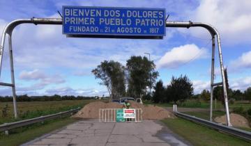 Imagen de Cuarentena por el coronavirus: en Dolores restringen los accesos con montañas de tierra