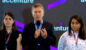 """Imagen de Macri se adelantó al anuncio oficial y admitió """"un pico de inflación en marzo"""""""
