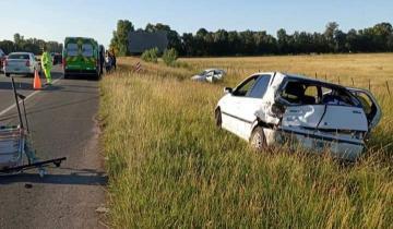 Imagen de Ruta 2: siete heridos tras un accidente de tránsito