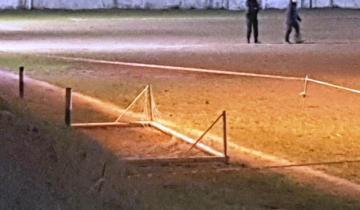 Imagen de Un arco de fútbol cayó sobre un chico de 12 años y lo mató
