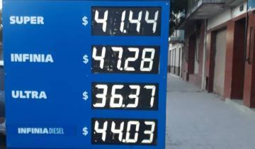Imagen de YPF también se sumó al aumento de combustibles