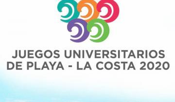 Imagen de La Costa presentó la imagen de los Juegos Universitarios de Playa