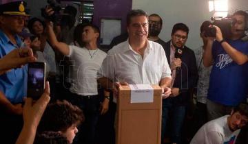 Imagen de Capitanich se impone por amplia ventaja en Chaco