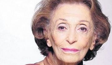 Imagen de Dieron por muerta a la actriz Hilda Bernard y su familia lo desmintió