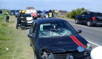 Imagen de Ruta 11: continúan los accidentes cerca de General Lavalle