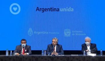 Imagen de El presidente Alberto Fernández anunció la continuidad de la cuarentena en 8 provincias y el AMBA