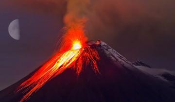 Imagen de Campaña bajo el volcán contenido